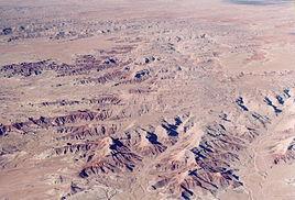 Landschaftsimpressionen über New Mexico