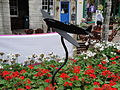 Newport St James Square flower bed ornament 3.JPG