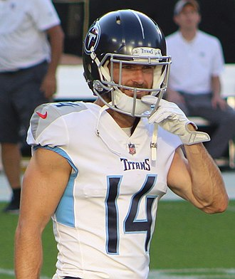 Nick Williams (wide receiver) - Williams with the Tennessee Titans in 2018