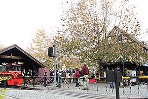 Shuzenji Romney Railway - Image: Nijinosato 20121104 British Village B