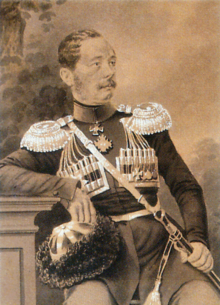 portrait of a seated man in military uniform