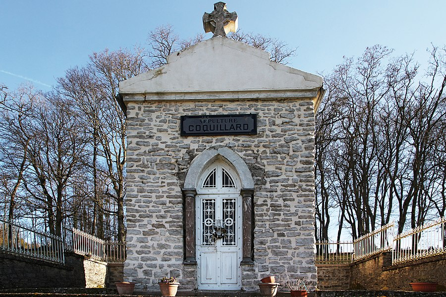 Funeral chapel of the familly Coquillard in Ninville