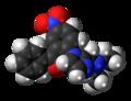 Nizofenone molecule spacefill.png