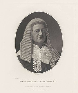 Frederick Matthew Darley Australian judge