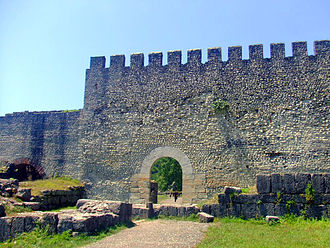 Roman Georgia - The remnants of the eastern gate in Archaeopolis