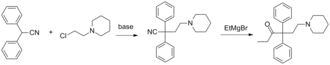 Norpipanone - Image: Norpipanone synthesis