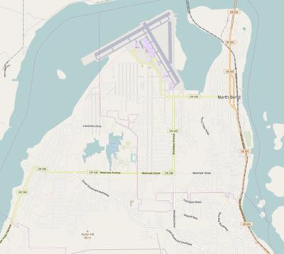 Module:Location map/data/USA Oregon North Bend - Wikipedia