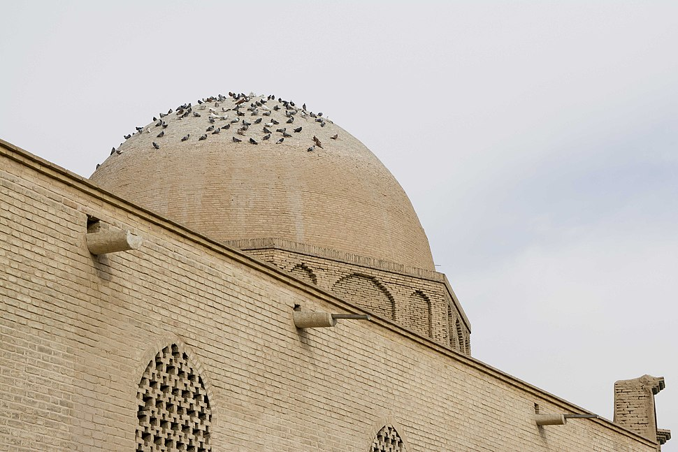 North Dome of Isfahan Jame mosque