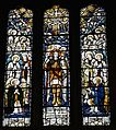 North transept window, St Michael and St Mary, Melbourne, Derbyshire.jpg