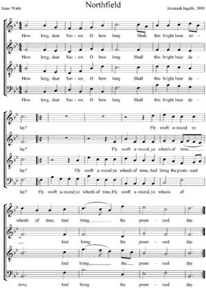 Fuguing tune - Image: Northfield By Jeremiah Ingalls
