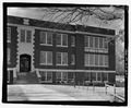 Northwest front - Bryson City Elementary School Building, Arlington Street, Bryson City, Swain County, NC HABS NC-369-1.tif