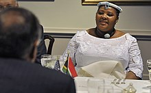 Nosiviwe Mapisa-Nqakula and Leon E. Panetta at the Pentagon Sept. 12, 2012.jpg