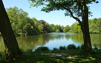 Nostell Priory - The Lower Lake at Nostell Priory