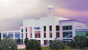 University of Nottingham Malaysia campus main building