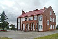 Nowy budynek Gimnazjum Mieścisko