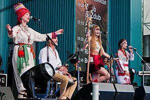 Music in Mordovia - Image: OYME Ivan Kupala fest