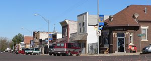 Oakland, Nebraska - Downtown Oakland