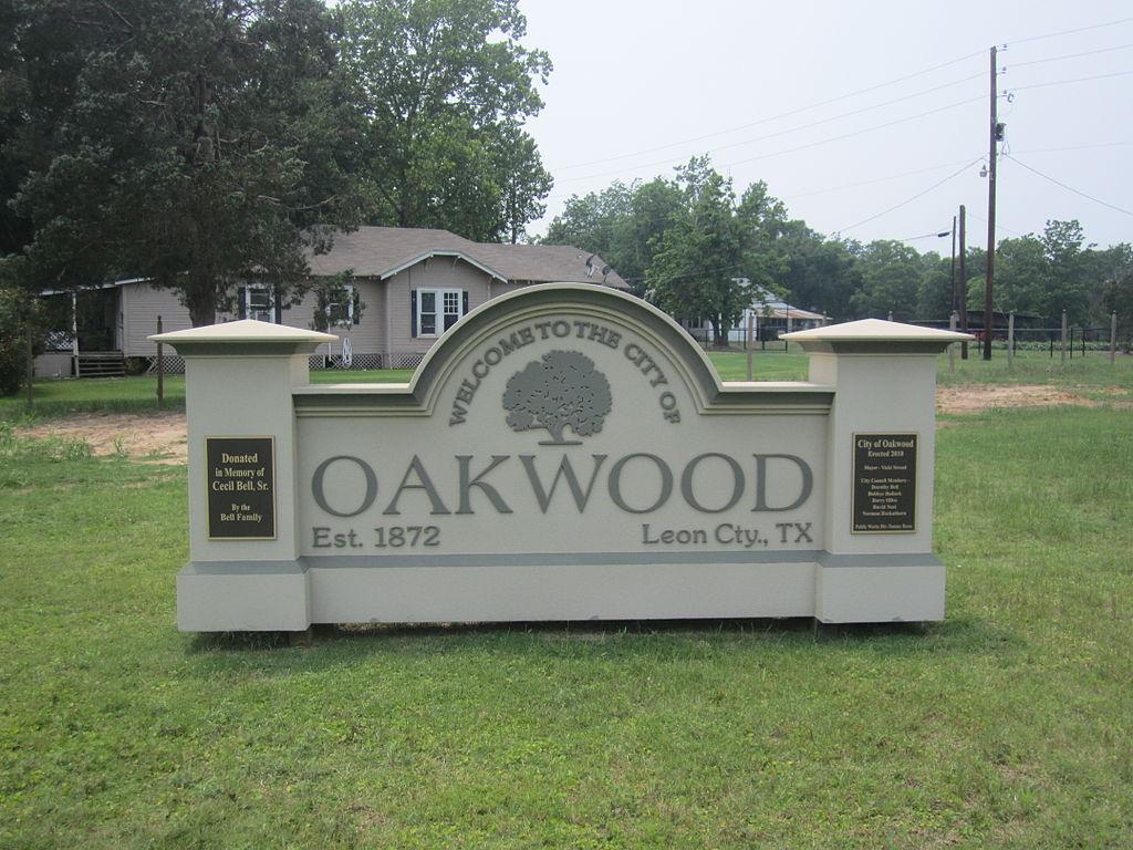 File oakwood tx sign img 3026 jpg wikipedia for The oakwood