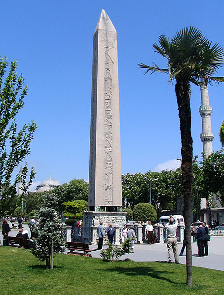 File:Obelisk of Thutmose III in the Hippodrome of Constantinople.jpg
