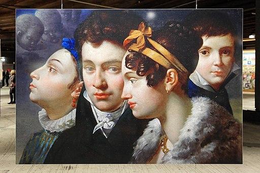 Oberhausen - Gasometer - Der schöne Schein - Family Portrait (Merry-Joseph Blondel) 01 ies