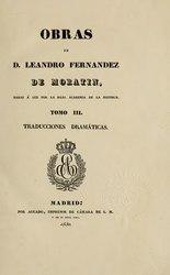 Real Academia de la Historia: Traducciones dramáticas