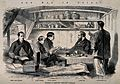 """Officers recouperating on board the """"Hercules"""", Hong Kong. W Wellcome V0015323.jpg"""