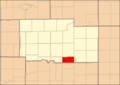Ogle County Illinois Map Highlighting LaFayette Township.png