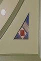 "Oil painting ""Nautical Signal Flag"" on first floor rotunda ceiling, U.S. Custom House, Philadelphia, Pennsylvania LCCN2010720036.tif"