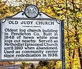 OldJudyChurch HistoricMarker 2762.jpg