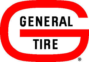 General Tire - General Tire logo used in the 1960s through the 1990s.