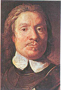 Oliver Cromwell,   Lord Protector   d Angleterre.