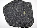 Olivine basalt (Cedar Canyon, Iron County, Utah, USA) 1 (48680326486).jpg