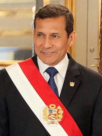 Ollanta Humala - Image: Ollanta Humala
