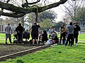 One form of exercise social distancing Tottenham style Covid-19 pandemic 7.jpg