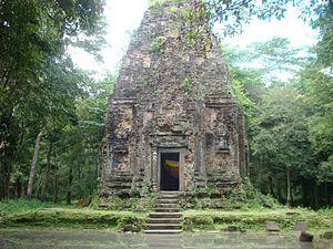 Sambor Prei Kuk - A temple in Sambor Prei Kuk