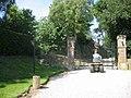 Open gates at Bride Hall - geograph.org.uk - 47544.jpg