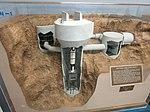 Operational Titan Launch Facility (Titan I) model - Titan Missile Museum.jpg