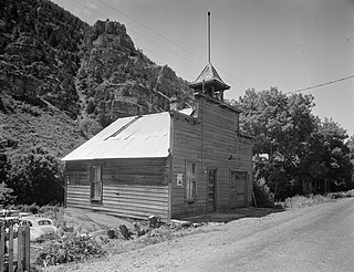 Ophir Town Hall United States historic place