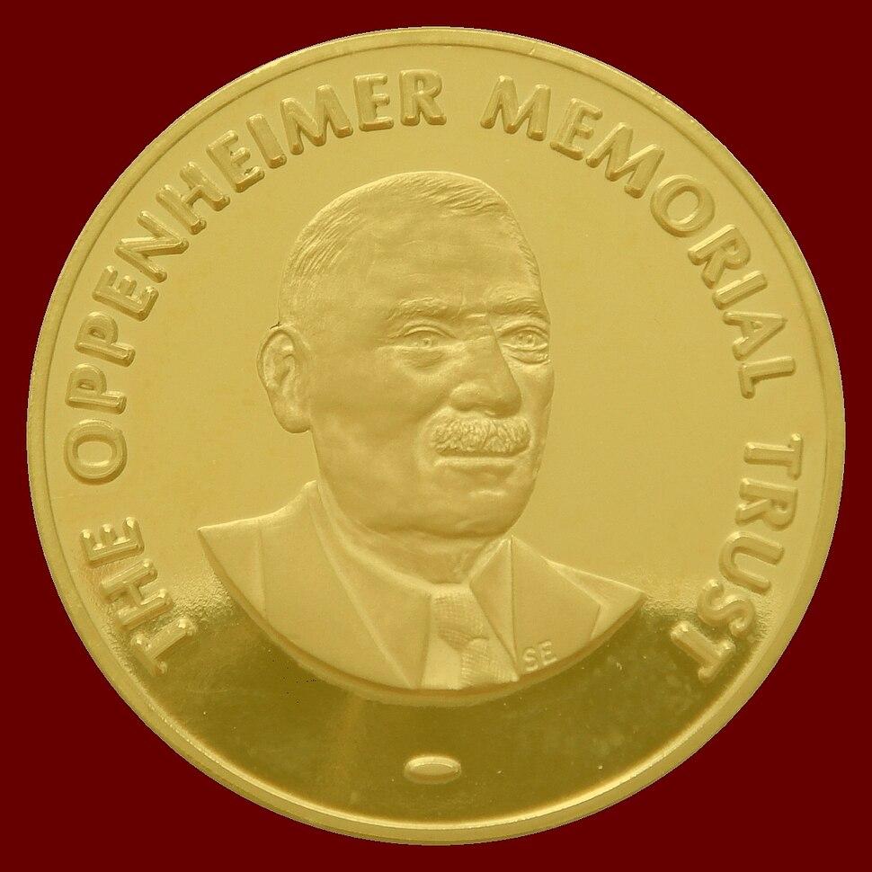 Oppenheimer Fellowship Award Medal