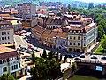 Oradea Centrul Istoric Palatul Levay si Palatul Poynar.jpg