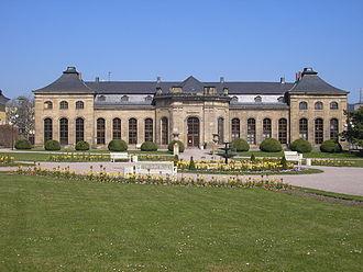 Friedenstein Palace - Orangerie (northern building)