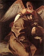 Orazio Gentileschi - St Francis Supported by an Angel - WGA8583.jpg