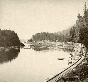 Oregon Portage Railroad - Image: Oregon Portage Railroad