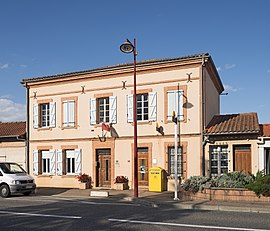 The town hall of Orgueil