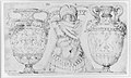 Ornamental Design with Amphore and Antique Style Armor (recto); Sketch with Two Figures (verso) MET 271527.jpg