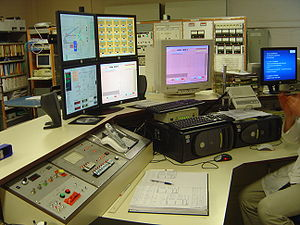 2005 image of the control panel of the synchro...