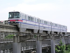 Osaka Monorail 1000 series - 1000 series second build train
