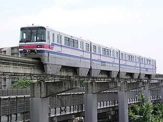 Hitachi Monorail - Image: Osaka Monorail 1000Series 01