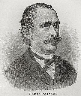 Oscar Peschel German geographer