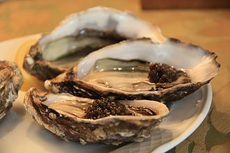 Gourmet - Oysters with caviar